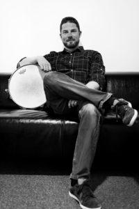 Guillaume Duchêne, professeur de batterie et de percussions chez BPM Music, co-fondateur de l'équipe