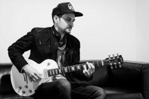 Ludo Romeo, professeur de guitare chez BPM Music, co-fondateur de l'équipe