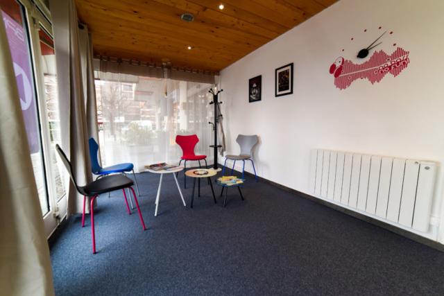 Salle de repos et d'accueil - Cours d'initiation à la musique pour les tout-petits - BPM Music - Thonon-Les-Bains