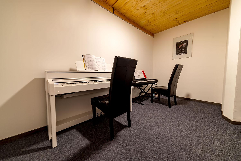 Salle de répétition - Cours de piano - BPM Music - Thonon