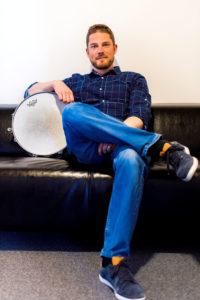 Guillaume Duchêne, prof de batterie et de percussions - BPM Music