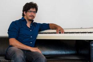 André Keiser professeur de piano chez BPM Music - Thonon