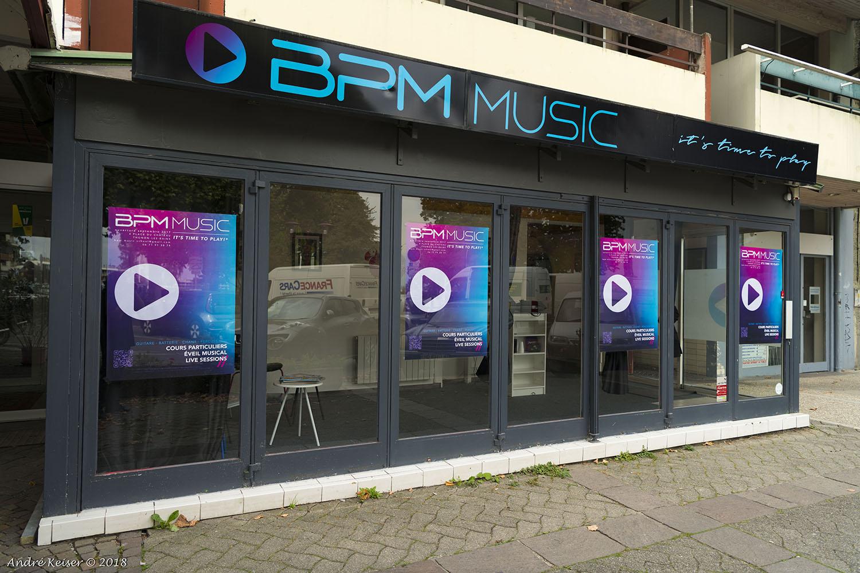 Locaux de BPM Music - Cours de batterie, basse, guitare, piano et chant - Haute-Savoie